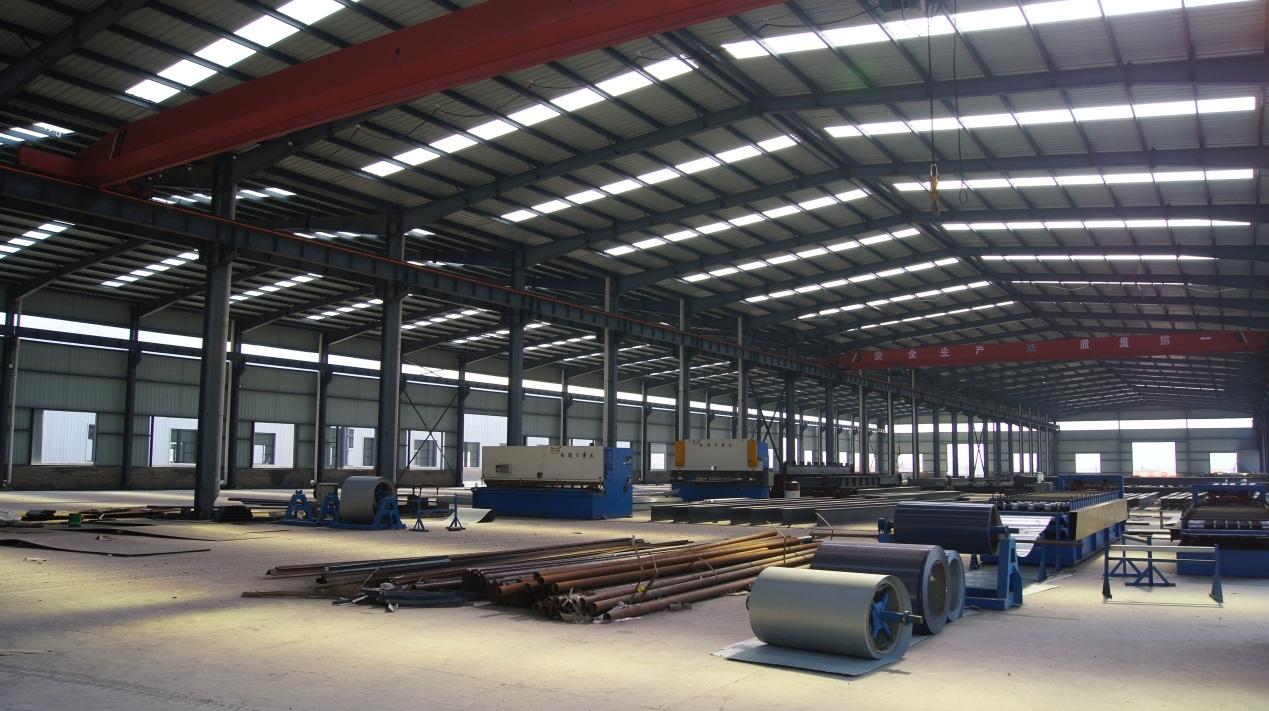 广州市煌城温室工程有限公司大型厂房